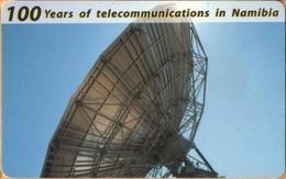 Namibia - 100 Years Of Telecommunications, Satellite Dish, 10 $, 1991, Used - Namibia