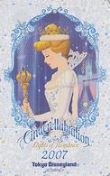 Télécarte NEUVE Japon / MF-1002860 - DISNEY Disneyland - CENDRILLON - CINDERELLA - Japan MINT Phonecard - Disney