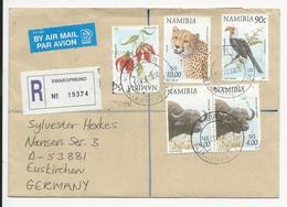 Cover * Namibia * 2003 * Swakopmund * Registered - Namibie (1990- ...)