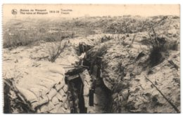 Ruines De Nieuport 1914-18 - Tranchée - Nieuwpoort