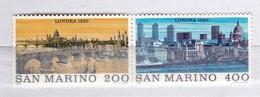 SAINT-MARIN - 1980 YT  1009-1010  N** MNH - Saint-Marin