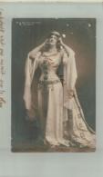 ARTISTE OPERA  Mme BERTHA (Berta) MORENA (Elizabeth)  CARTE  PHOTO   Dec 2018 470 - Opéra