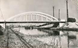 "CPSM FRANCE 02 ""Quessy, Le Pont"" - France"