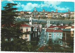 V3085 Bergamo - Via Locatelli E Città Alta - Panorama / Viaggiata 1961 - Bergamo