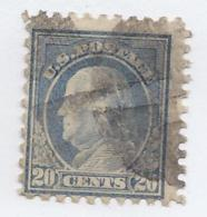15597) USA 1912 Scott 435 Perforated 10  Watermarked - Estados Unidos