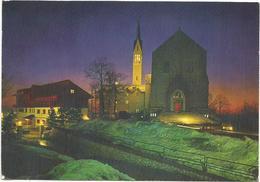 V3096 Rieti - Monte Terminillo - Pian De' Valli - Chiesa Di San Francesco - Notturno Notte Nuit Night Nacht / Viaggiata - Rieti