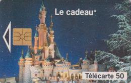 Télécarte France - DISNEY - Disneyland Paris - Chateau Castle Chip Phonecard - Disney