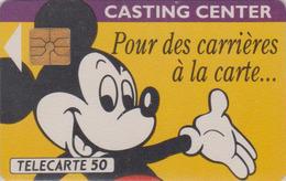 Télécarte France - DISNEY - Disneyland Paris - MICKEY MOUSE Chip Phonecard - Disney