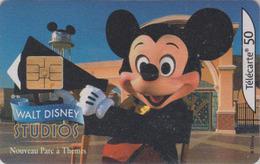 Télécarte France - DISNEY STUDIOS - Disneyland Paris - MICKEY MOUSE Chip Phonecard - Disney