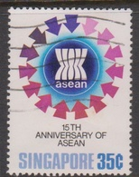 Singapore 425 1982 15th ASEAN Ministerial Medeting 35c, Used - Singapore (1959-...)