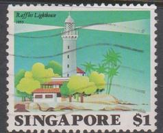 Singapore 433 1982 Lighthouses $ 1 Raffles Lighthouse, Used - Singapore (1959-...)