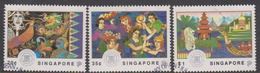 Singapore 699-701 1992 25th Anniversary Of ASEAN, Used - Singapore (1959-...)