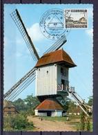 Belgie - Genk - Bokrijk -  ** 22 - 6 - 68 - Windmolen - Openluchtmuseum ** - Genk