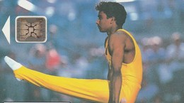 TELECARTE 50....CHAMPIONNATS DU MONDE DE GYMNASTIQUE PARIS 1992.. - Francia