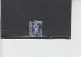INDIA  1957-58 - Yvert  S 21 - Francobolli Di Servizio