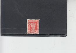 INDIA  1957-58 - Yvert  S 20 - Francobolli Di Servizio