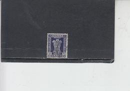 INDIA  1958-63 - Yvert  S 24 - Francobolli Di Servizio