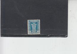 INDIA  1950-51 - Yvert  S  4 - Francobolli Di Servizio