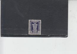 INDIA  1950-51 - Yvert  S 10 - Francobolli Di Servizio