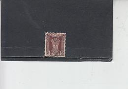 INDIA  1950-51 - Yvert  S 2 - Francobolli Di Servizio