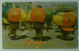 ST VINCENT & THE GRENADINES - GPT - 8CSVD - $40 - Vincy Carnival - STV-8D - Used - St. Vincent & The Grenadines