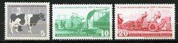 Allemagne De L'est, Yvert 346/348, Scott 385/387, MNH - [6] République Démocratique