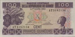 GUINEE 100 FRANCS GUINEENS De 1985  PICK 30a  UNC/NEUF - Guinée