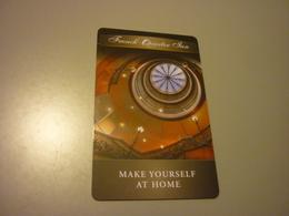 U.S.A. Charleston French Quarter Inn Hotel Room Key Card - Cartes D'hotel