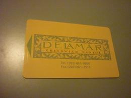 U.S.A. Greenwich Harbor Delamar Hotel Room Key Card - Cartes D'hotel