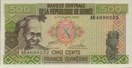 GUINEE 500 FRANCS GUINEENS De 1985  PICK 31a  UNC/NEUF - Guinée