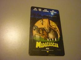 U.S.A. Super 8 Hotel Room Key Card (Disney Madagascar/lion/zebra/giraffe/hippo/penguin) - Cartes D'hotel