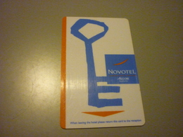 Thailand Suvarnabhumi Airport Novotel Hotel Room Key Card - Cartes D'hotel