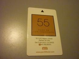 U.S.A. San Francisco Parc 55 Hotel Room Key Card - Cartes D'hotel