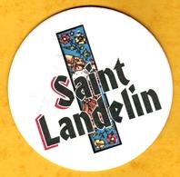 Sous-bock Cartonné - Bière - Belgique - Saint-Landelin - Beer Mats