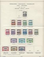 YUGOSLAVIA 1918/1919 SMALL LOT - 1919-1929 Royaume Des Serbes, Croates & Slovènes