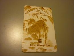 Philppines Manila Edsa Shangri-La Hotel Room Key Card - Cartes D'hotel
