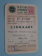 Nationale Strijdersbond Van België ( N° 130010 : Afd. ZOMERGEM - RONSELE (Verstraeten) Zie Foto Voor Detail ! - Documents