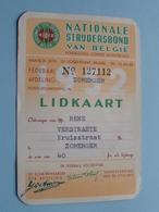 Nationale Strijdersbond Van België ( N° 127112 : Afd. ZOMERGEM (Verstraete) Zie Foto Voor Detail ! - Documents