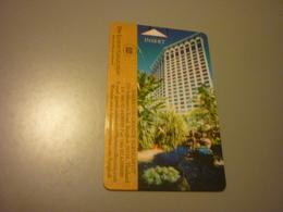 Thailand Sukhumvit Grande Sheraton Hotel Room Key Card - Cartes D'hotel