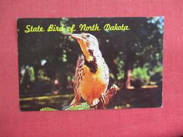 State Bird Of North Dakota Meadowlark  3087 - Birds