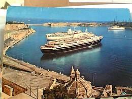 MALTA LA VALLETTA NAVE SHIP CRUISER   V1979 GY6052 - Malta