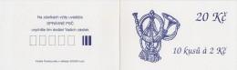 Carnet De 10 Timbres YT C 15 (III) Cor De Postillon / Booklet Michel MH 0-6 III Post Horn - Czech Republic
