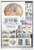 Année Complète 2001 Neuve / Complete Year Mint YT 265 / 293 + BF 12 / 13 - Tchéquie