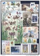 Année Complète 2002 Neuve / Complete Year Mint YT 294 / 320 + BF 14 / 15 - Czech Republic