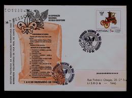 Scouting Law Scoutisme Portugal Vila Real De Santo Antonio Firemen & Scouts Philatelic Exh.(pmk Special ! -cover) Gc3725 - Covers & Documents