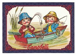 IMAGE THE CAMPBELL'S COLLECTION N° 31 . 1983 CAMPBELL KIDS . 1995 & TRADEMARK LICENSED BY CAMPBELL SOUP COMPAGNY - Vieux Papiers