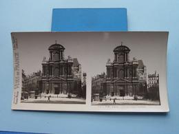 PARIS : Eglise Saint Gervais : S. 5 - 3026 ( Maison De La Bonne Presse VUES De FRANCE ) Stereo Photo ! - Photos Stéréoscopiques