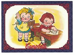 IMAGE THE CAMPBELL'S COLLECTION N° 34 . 1978 CAMPBELL KIDS . 1995 & TRADEMARK LICENSED BY CAMPBELL SOUP COMPAGNY - Vieux Papiers