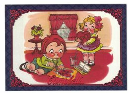 IMAGE THE CAMPBELL'S COLLECTION N° 35 . 1979 CAMPBELL KIDS . 1995 & TRADEMARK LICENSED BY CAMPBELL SOUP COMPAGNY - Vieux Papiers