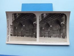 PARIS : Notre-Dame - Les 3 Portails : S. 6 - 2970 ( Maison De La Bonne Presse VUES De FRANCE ) Stereo Photo ! - Photos Stéréoscopiques